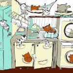 cats living